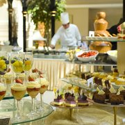 Champagne Brunch every Sunday with unlimited Champagne, buffet and live music.  For all the family and friends.