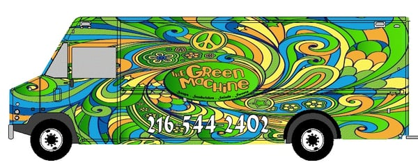 The Green Machine Food Truck! | Yelp