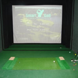 golf in a box, Camborne, Cornwall, UK