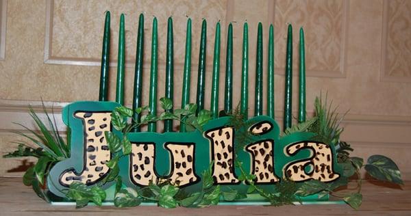 Jungle Theme Candle Lighting Piece | Yelp