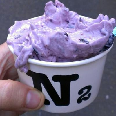 Blueberry Cheesecake gelato from N2