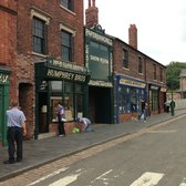 The first Main Street at the Black Country Museum
