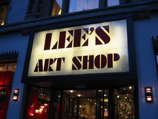 Lee s art shop art supplies midtown west yelp for Craft stores in nyc