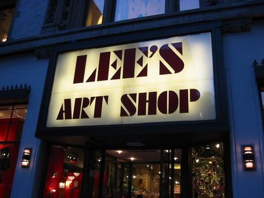 Lee S Art Shop Art Supplies Midtown West Yelp