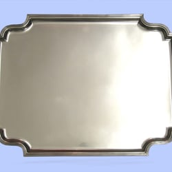 Large Sterling Silver Tray, By Atkins, 1930