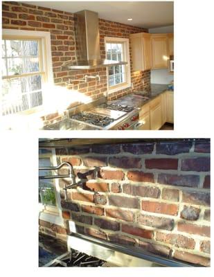 thin brick kitchen backsplash hood cleaning yelp