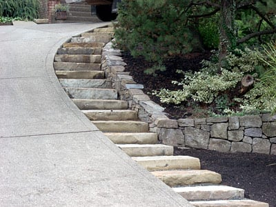 Resources dg project 6 Cedar Fence 16 17 58454 likewise How To Build A Small Cabin together with Watch as well Cobblestone Driveway likewise Watch. on steep slope garden design ideas
