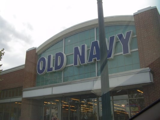 Old navy clothes store