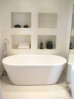 Salle de bain avec baignoire lot - Salle de bain avec baignoire ilot ...
