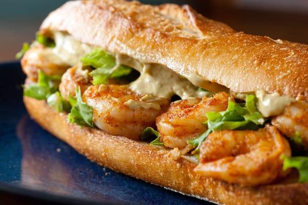 Grilled Shrimp Po'Boy | Yelp