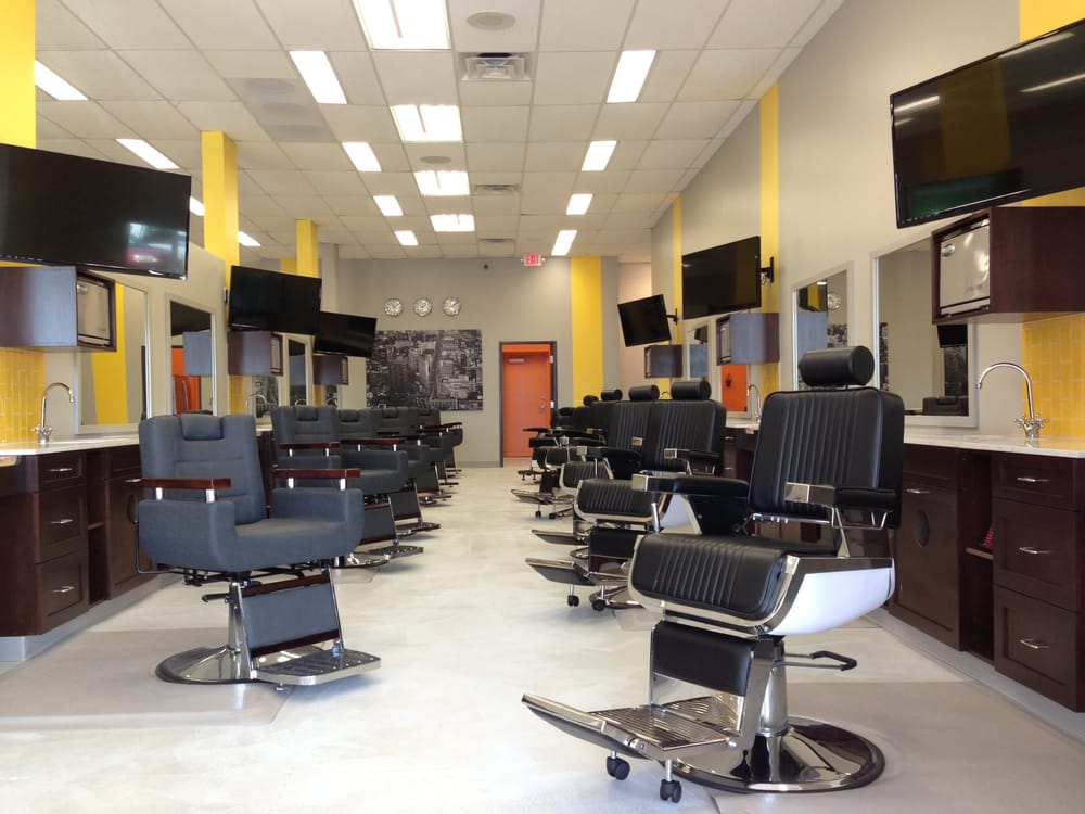 27 barber stations Yelp