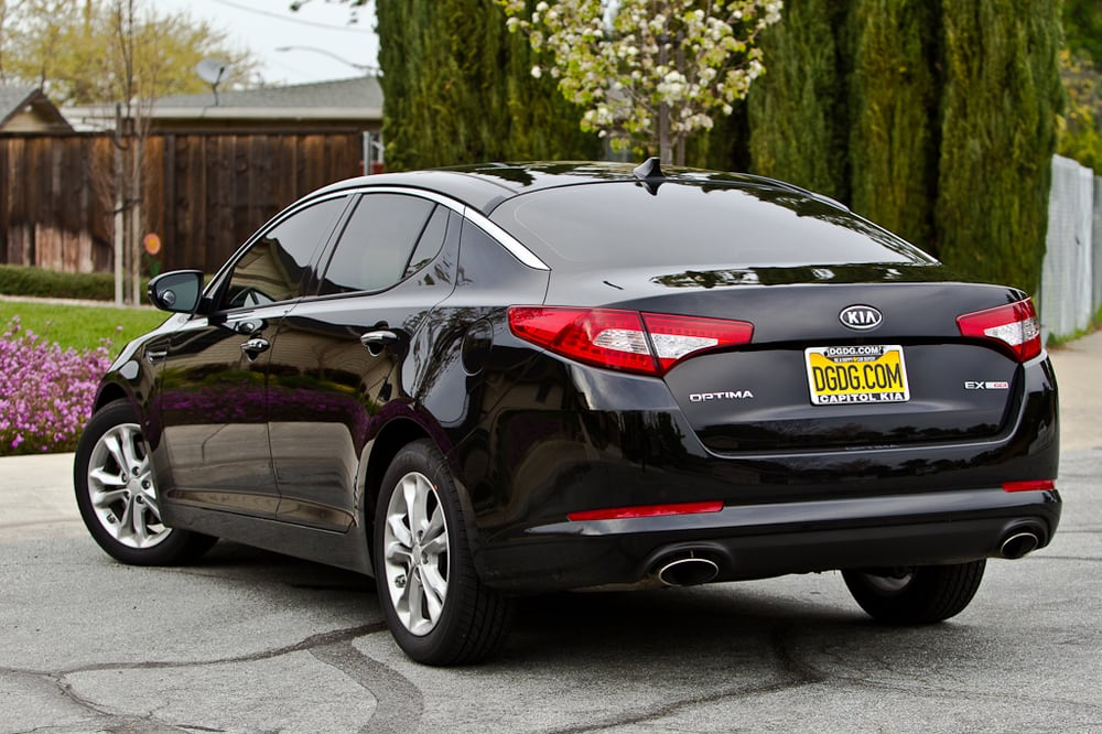2012 kia optima ex turbo tinted by ca auto tinting yelp. Black Bedroom Furniture Sets. Home Design Ideas