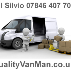 Quality Van Man Hire Removals Couriers Edgware London, London