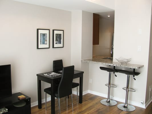 Dining Room Breakfast Bar And Pass Through Window To The