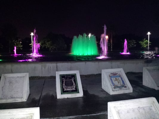 mardi gras fountain lakeview new orleans