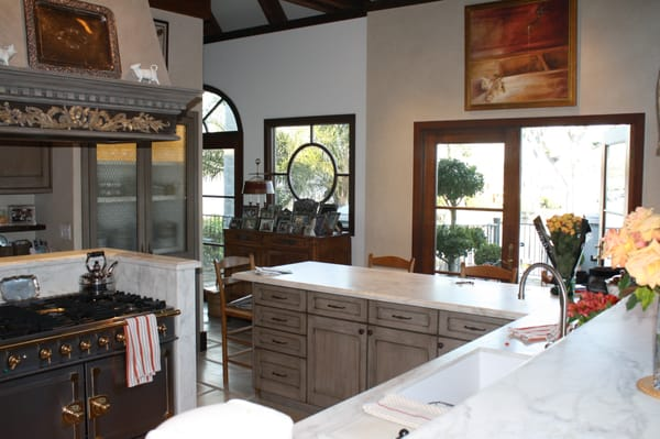 French country style kitchen from a different angle..old style