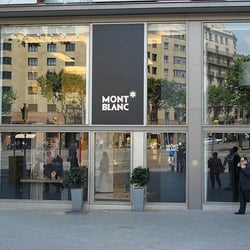 Montblanc Boutique, Barcelona, Spain
