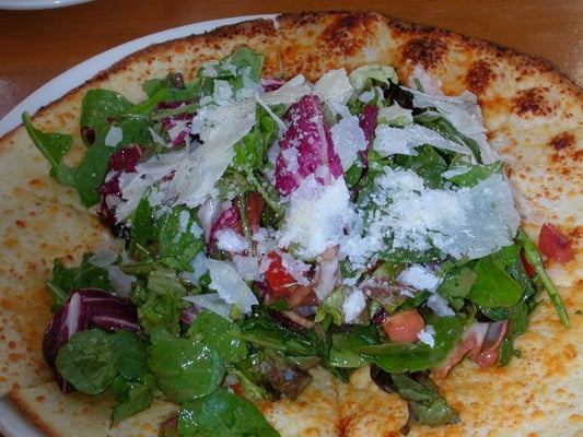 Tricolore salad/pizza