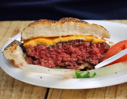 how to cook a medium rare burger on the grill