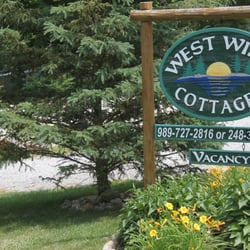 West wind cottages guest houses for Hubbard lake mi fishing