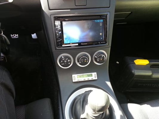 350z Double Din Install With Custom Tein Module Install Yelp