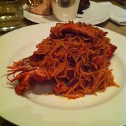 Lobster with taglierini