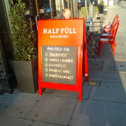 Half Full Bar & Kitchen, London, UK