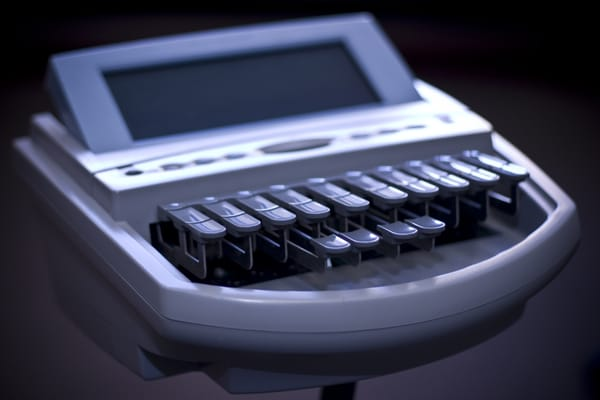 what is a stenograph machine