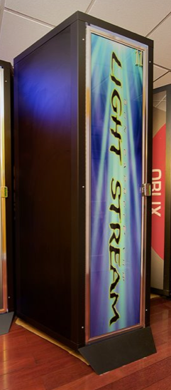 Our stand up tanning booths with built in dressing rooms for 24 hour tanning salon nyc