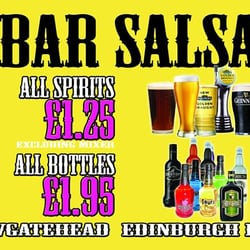 Bar Salsa, Edinburgh