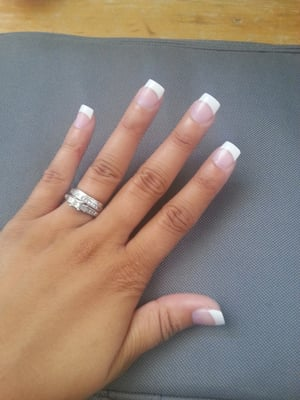 Love my acrylic nails! They feel great! | Yelp