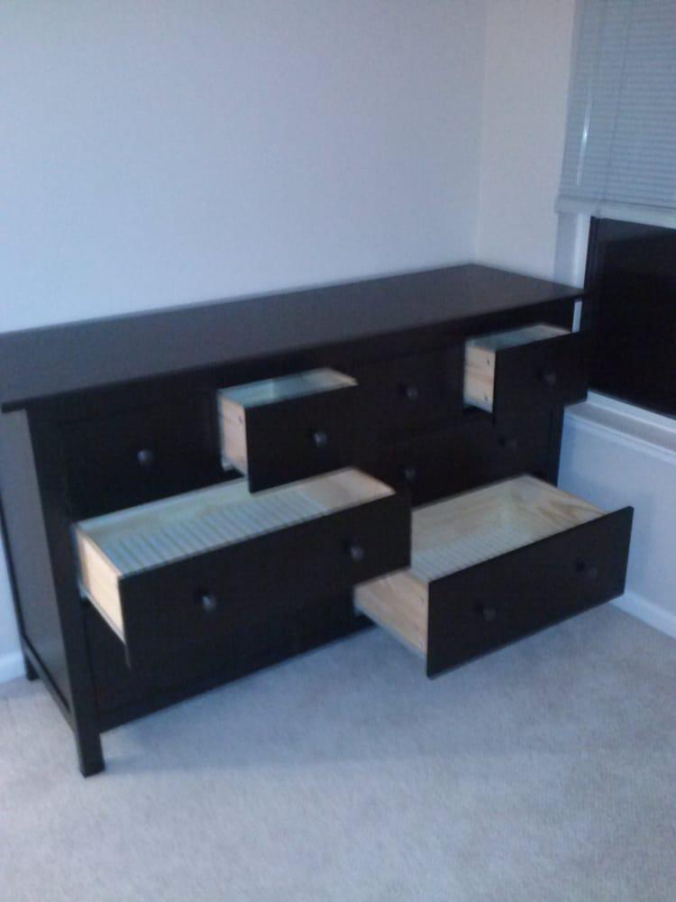 Ikea hemnes 8 drawer dresser yelp for I furniture assembly