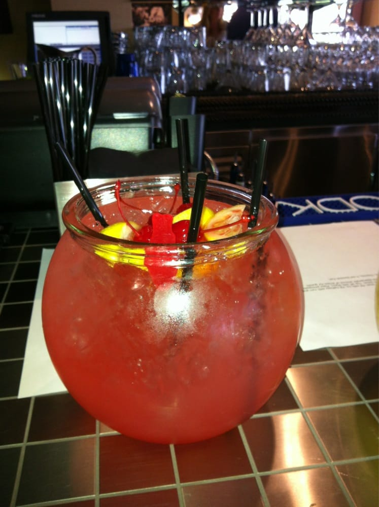 Fish bowl drinks awesome yelp for Fish bowl drinks near me