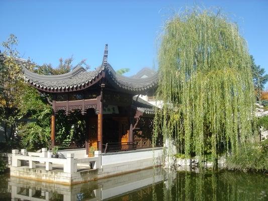 Lan Su Chinese Garden Old Town Chinatown Portland
