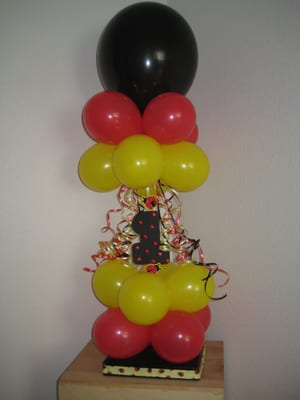 Lady Bug Theme Centerpiece Yelp