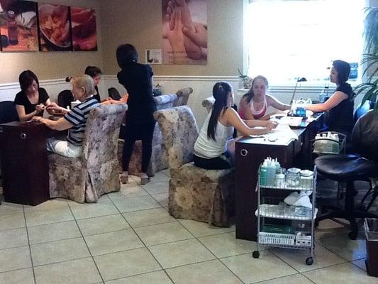 Natalie salon in menlo park spa manicure area yelp for 1258 salon menlo park