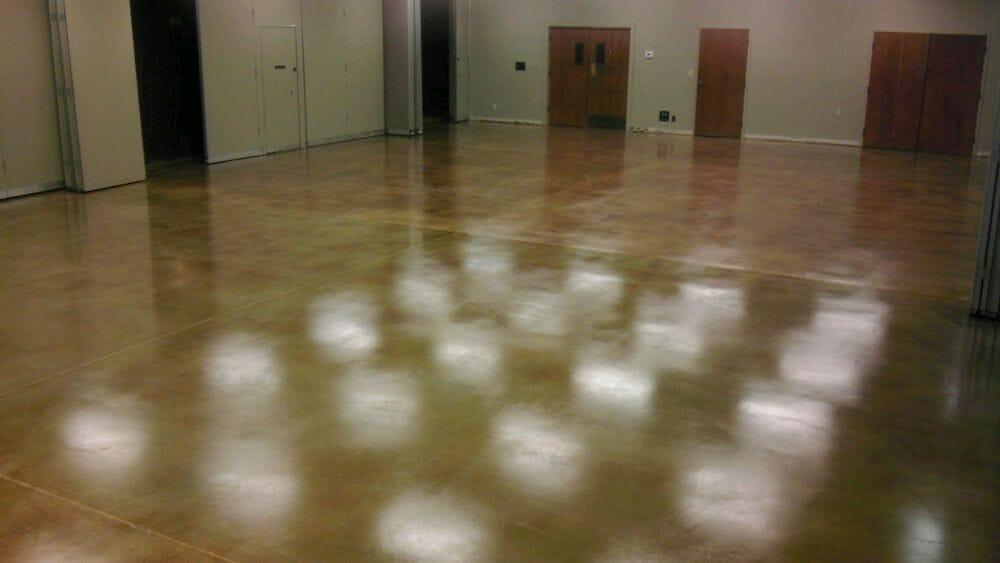 Interior Color Stain Concrete Floor Bethel Church In San Jose Yelp