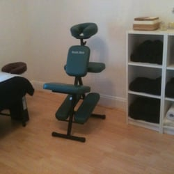 Fully equipped massage room