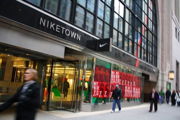 Niketown 64 photos shoe stores midtown east new for Home goods stores nyc