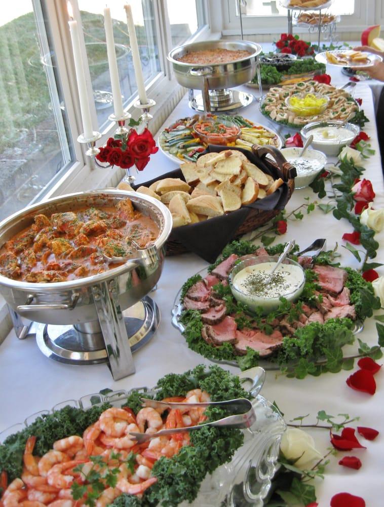 Heavy Finger Food Wedding Reception