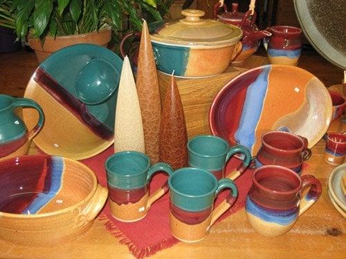 McQueeney Pottery by Walt Glass at Brooke Pottery Lakeland, FL