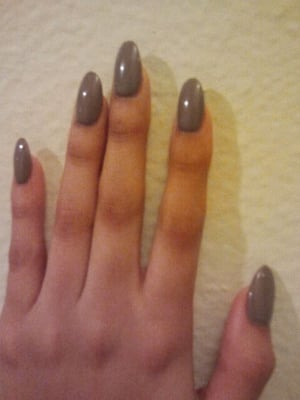 Acrylics oval shape | Yelp