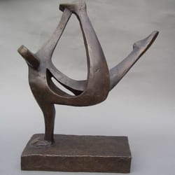 Break Dance, Edition of 12, by John Brown Sculptor