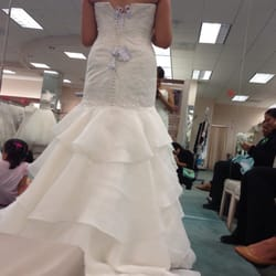 not the wedding dress but one of the dresses she tried on