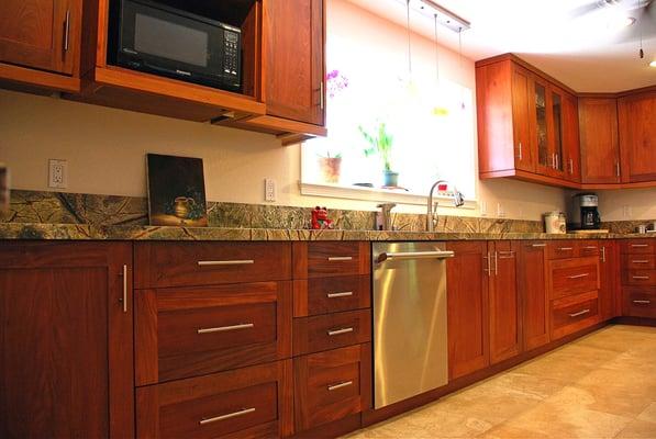 Pinkadu, Shaker style, Kitchen. | Yelp