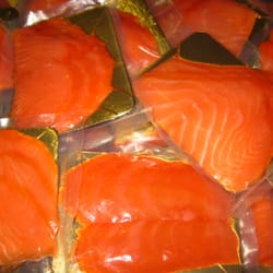 Certified smoked fish seafood markets gardena ca yelp for Cold smoking fish