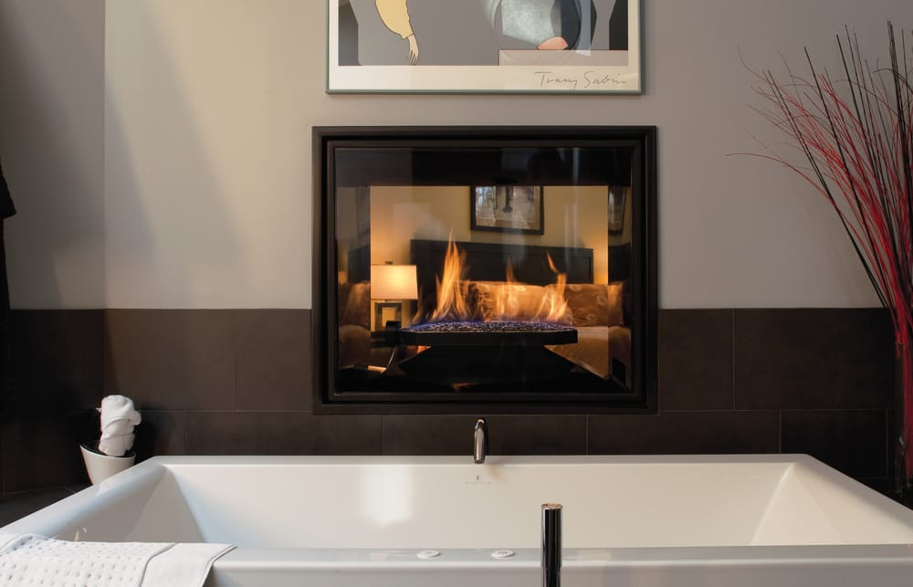 Town Country See Thru Fireplace Yelp