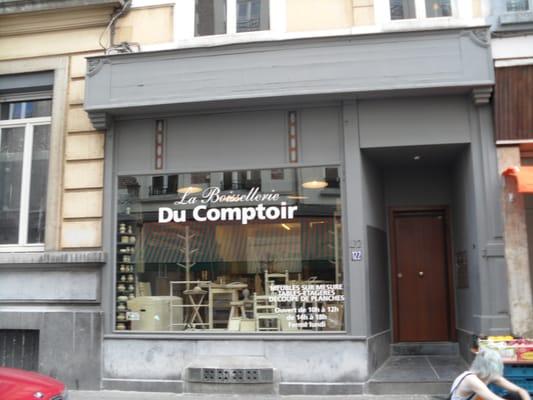La boissellerie du comptoir magasin de meuble for Comptoir du meuble bruxelles