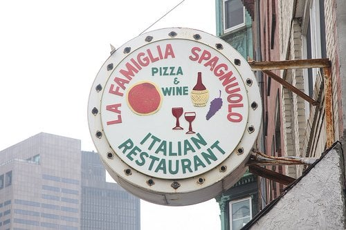 La famiglia spagnuolo s cucina italiana boston ma for Amici italian cuisine boston ma