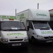 Alternative to hiring a skip these vehicles carry double the waste than a builders skip can carry